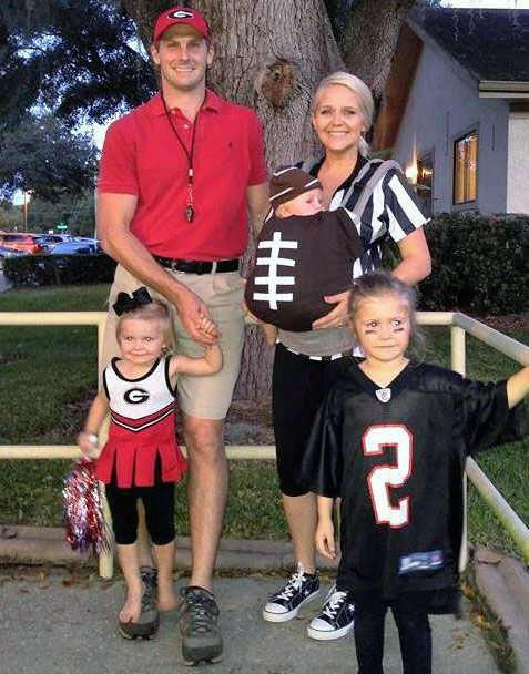 brittany norman referee and family halloween costumescute costumesbaby - Baby And Family Halloween Costumes
