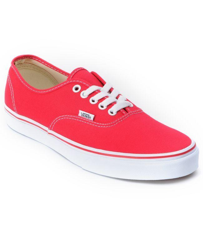 Red Vans!!