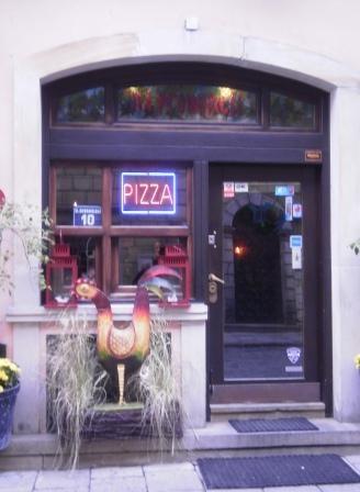 """""""Na Prowincji"""" restaurant (Italian cusine), 10 Nowomiejska St., Warsaw - Old Town, Poland"""