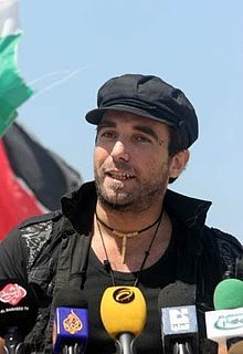 """Stay Human"" Vittorio Arrigoni (4 February 1975 – 15 April 2011) was an Italian reporter, writer, pacifist and activist (from wikipedia)"