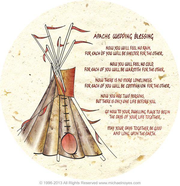 Native American Wedding Quotes: Native American Wedding Prayer