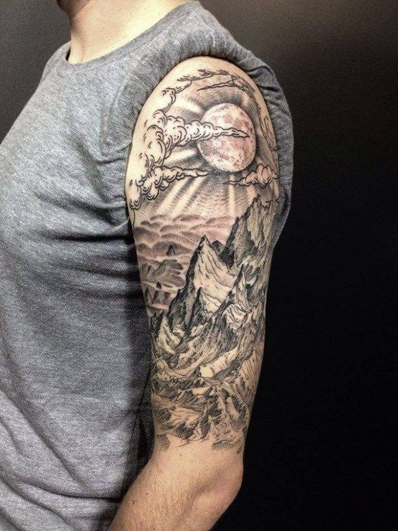 The Biggest Contribution Of Sun Rays Tattoo Shading To Humanity Sun Rays Tattoo Nature Tattoo Sleeve Nature Tattoo Sleeve Women Half Sleeve Tattoos For Guys