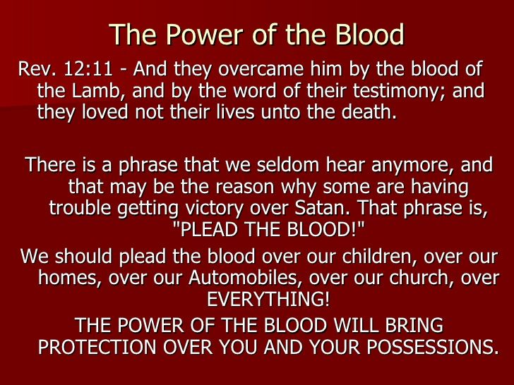 I Plead The Blood Of Jesus Google Search Reading