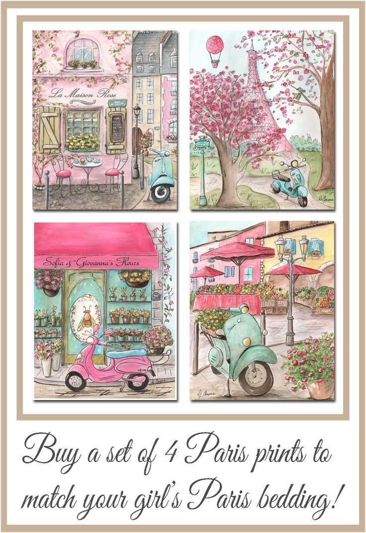 33 best pink paris london italy chicago more art prints for girl 39 s bedroom nursery. Black Bedroom Furniture Sets. Home Design Ideas