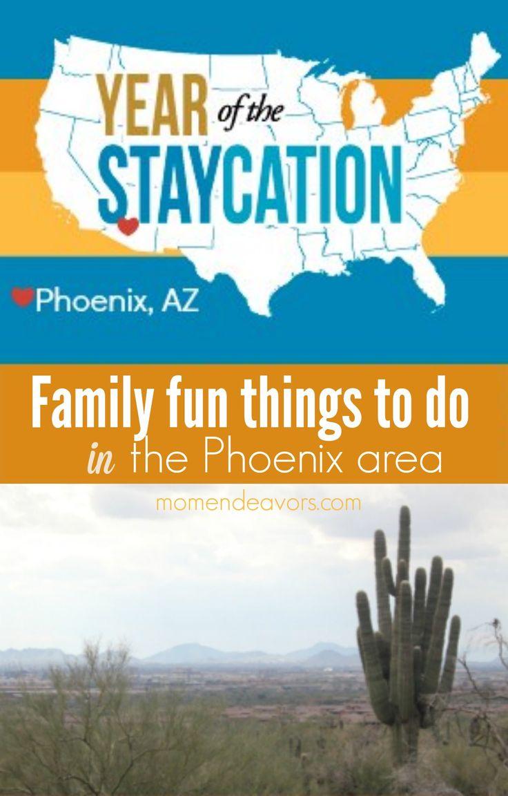 Family fun things to do in the Phoenix Metro Area! #familytravel #Arizona