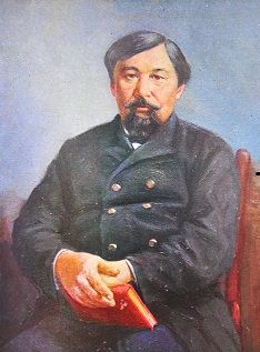 Ybyrai (Ibrahim) Altynsarin introduced a Cyrillic alphabet for the Kazakh language. As an educator, he opened numerous Kazakh-Russian boarding schools, technical schools and schools for girls.