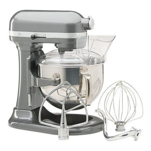 KitchenAid KP26M1PSL Professional 600 Series 6-Quart Stand Mixer, Silver – KITCHEN APPLIANCES