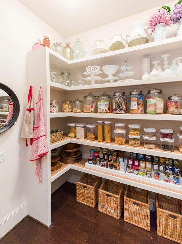 30 Handy Kitchen Pantry Closet Design Ideas   Kitchen pantry ...