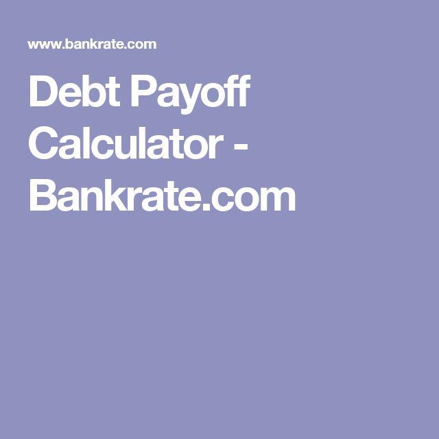 Debt Payoff Calculator - Bankrate.com