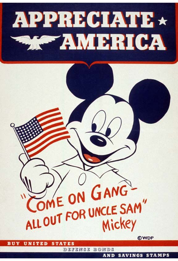 They rallied a nation around the flag…and a cartoon mouse.