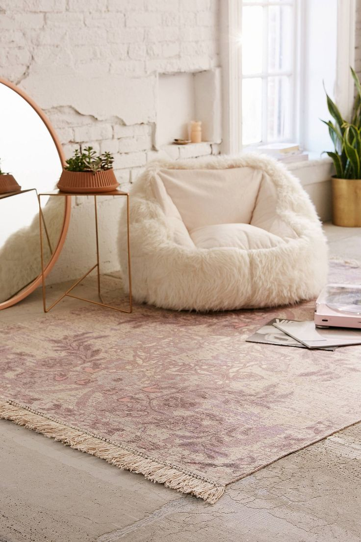 Sami Floral Printed Rug   Urban Outfitters