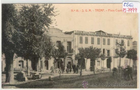 Tremp, Plaça Capdevila