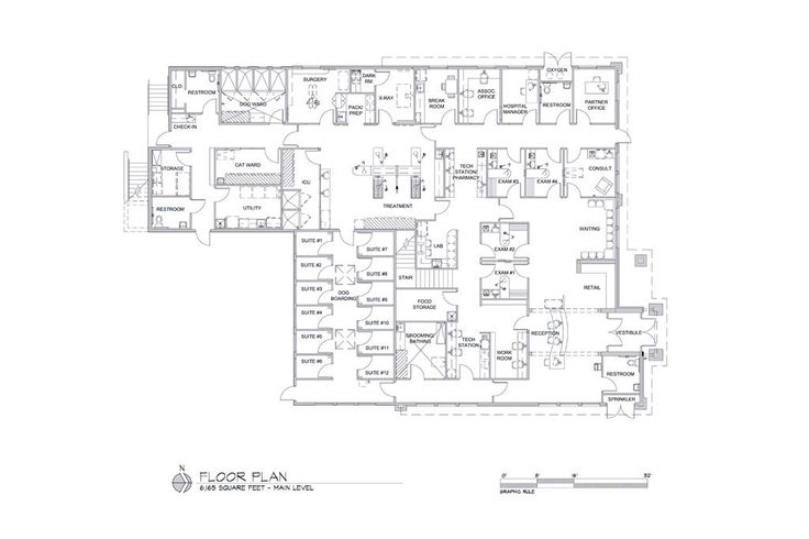 30 best images about clinic floor plans on pinterest for Dog grooming salon floor plans