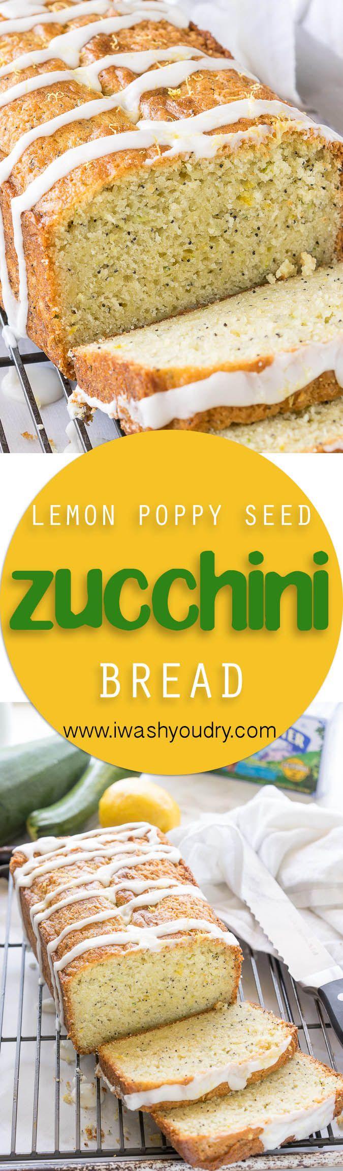 I've already made this Lemon Poppy Seed Zucchini Bread recipe 5 times! It's so good!