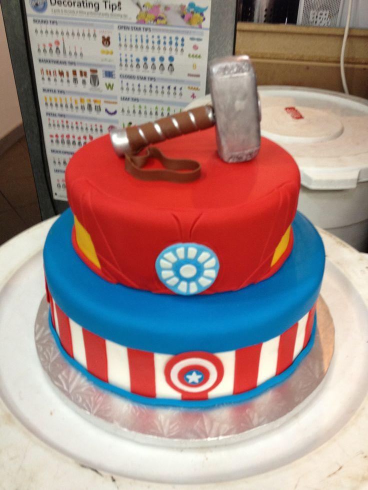 Avengers Birthday Cake Design : avenger cake designs - Google Search Great!! Pinterest ...