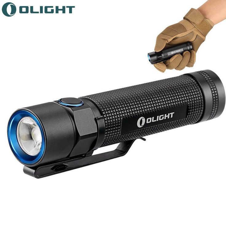 Olight S2 Baton 950 Lumens Portable Flashlight mini with Cree led XM-L2 LED torches/torch for Spring Outing, Camping, Hiking(China (Mainland))
