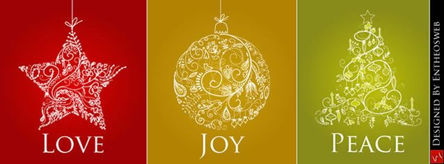 free love joy peace christmas facebook timeline cover christmas