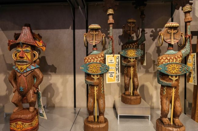 Disneyland's 50th anniversary of the Enchanted Tiki Room merchandise