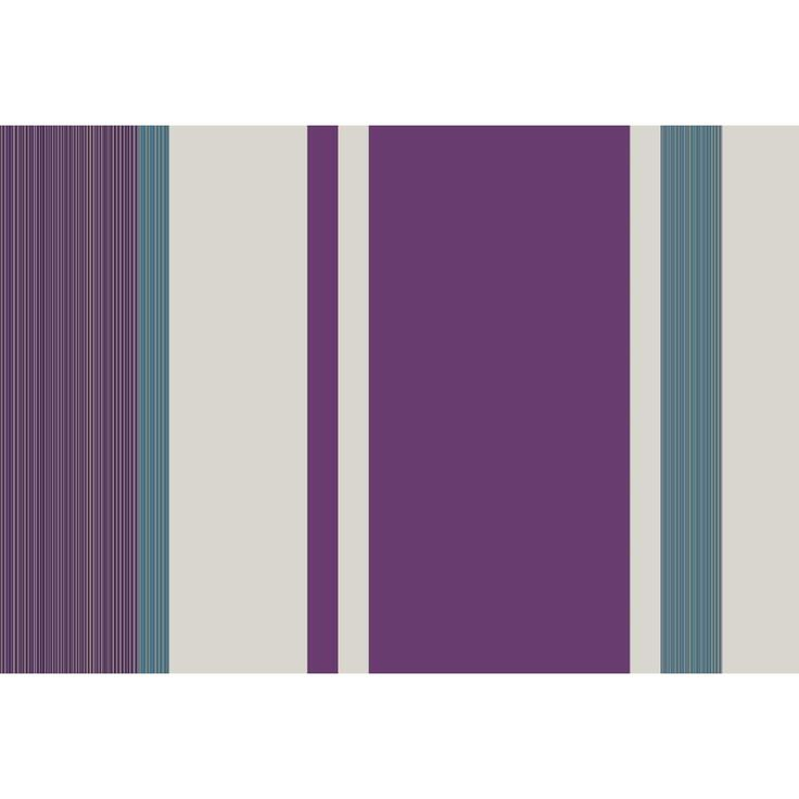 Wilko manton stripe plum teal wallpaper for the home pinterest watercolour stripes and - Teal wallpaper wilkinsons ...