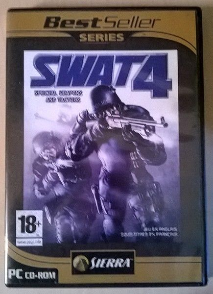 collection Best seller serie Sierra - SWAT 4 - Spécial weapon and Tactics