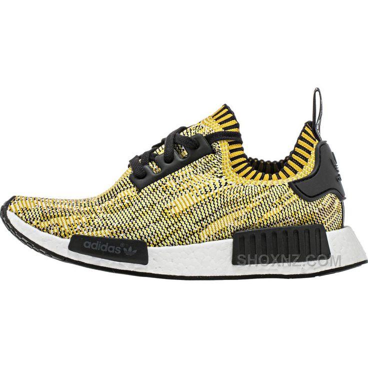 Adidas NMD Primeknit (Mens) - Yellow/Black New Arrivals