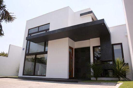 Fachada casa minimalista exteriores y fachadas pinterest - Fachadas casas minimalistas ...