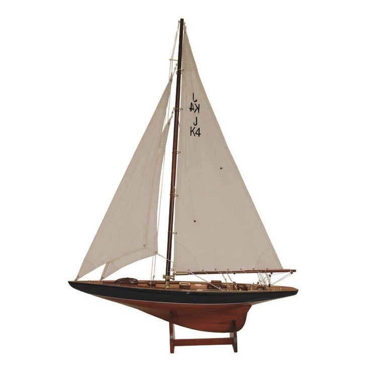 Модель яхты Endeavour Lux L:120 cm -H:172 cm