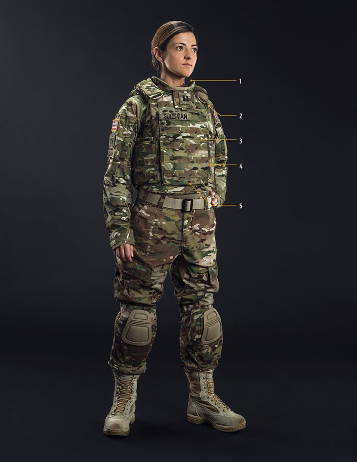 New American Military Body Armor Designs