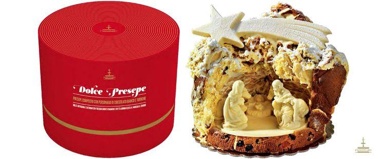 DOLCE PRESEPE - Dolce artigianale da forno con freschi canditi d'arancio e uvetta aromatizzata al Marsala e Zibibbo. Presepe composto con personaggi in cioccolato bianco. -: #Natale 2013 :-