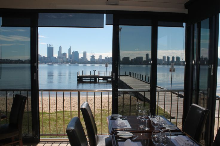 Dinner with a view at The Boatshed Restaurant in Perth, WA, on South Perth Foreshore. #restaurant #perth #spectacular #sunshine www.boatshedrestaurant.com