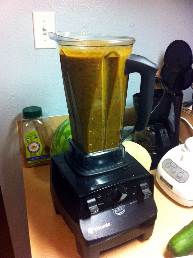 how to make tortilla soup in vitamix