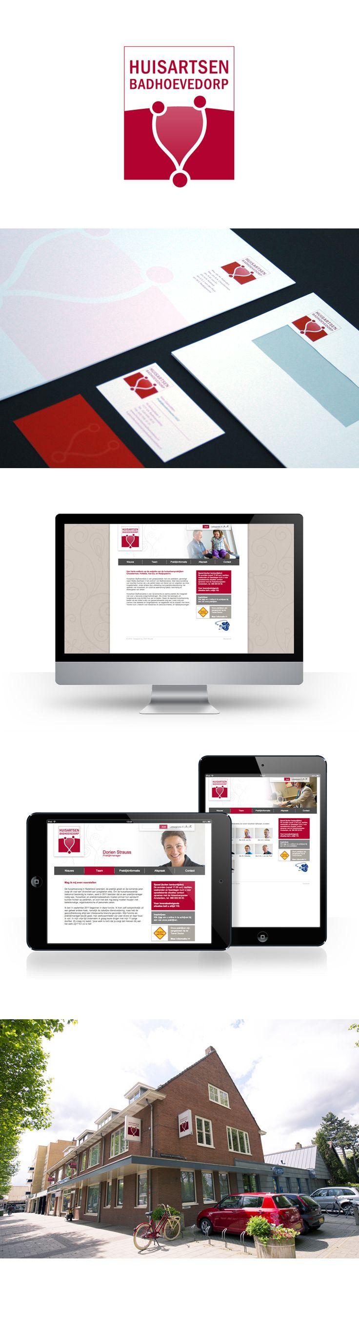 Huisartsen Badhoevedorp is een groepspraktijk met vier praktijken, gevestigd naast Mediq Apotheek in het centrum van Badhoevedorp. Het is een dynamische en warme praktijk die meegroeit met de voor haar cliënten relevante zorgontwikkelingen. De bij de praktijk aangesloten huisartsen en medewerkenrs vinden het zeer belangrijk om hoogstaande zorg dichtbij huis aan te kunnen bieden. Voor Huisartsen Badhoevedorp heeft ZIGT Studio een logo, huisstijl, website en uithangbord ontwikkeld.