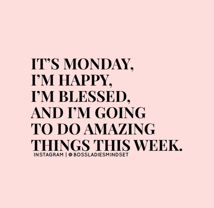 Being positive about Mondays ☆ Follow us @popcherryau for more daily quotes ☆ http://www.loapowers.net/what-else-is-preventing-you-from-success/