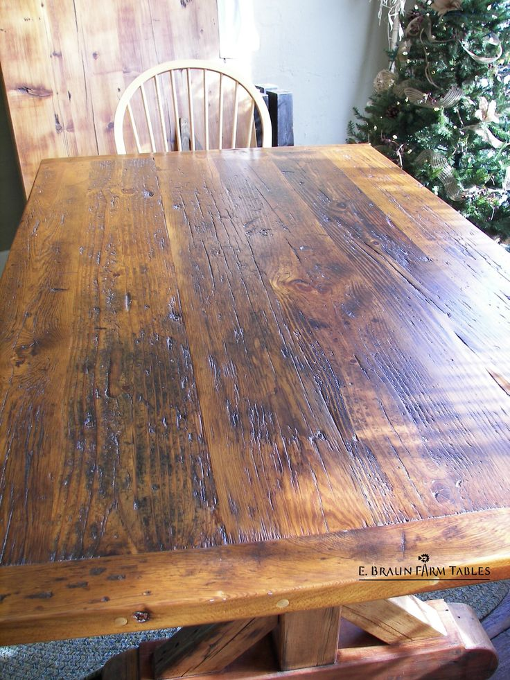 269 Best Images About Farm Tables Reclaimed Barn Wood On .