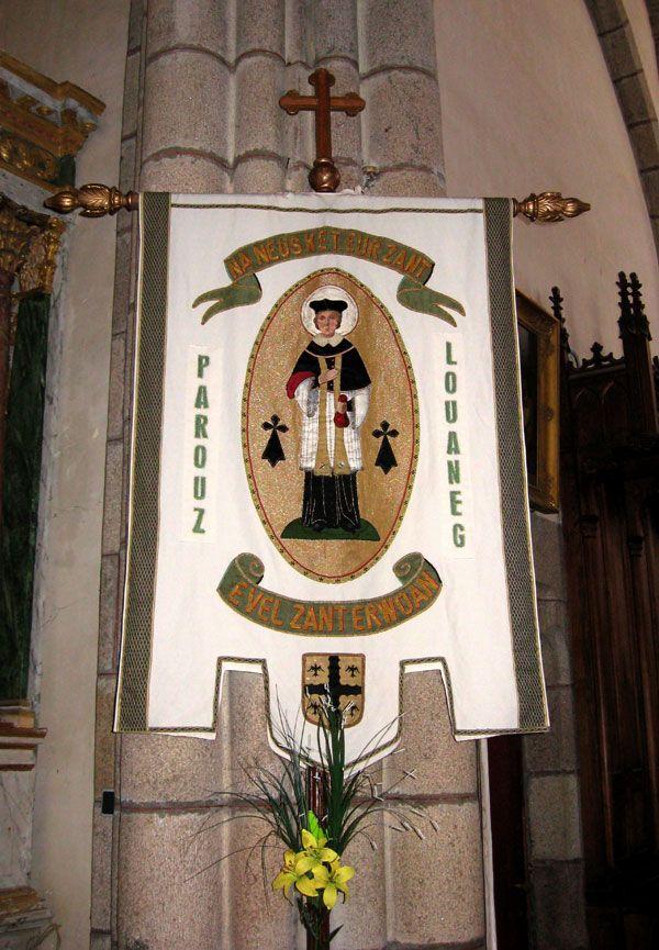 Bannière de saint Yves, Louannec (22)