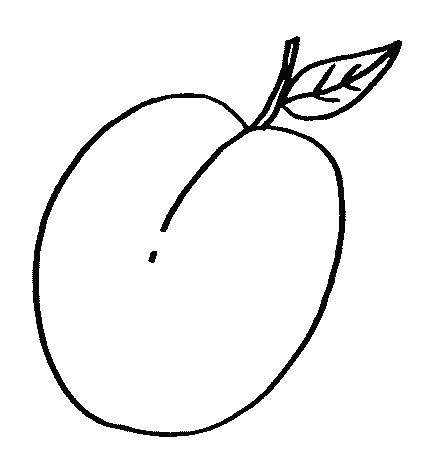 coloring pages prunes - photo#12