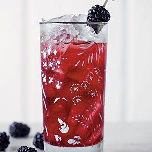 Southern Blackberry Sweet Tea