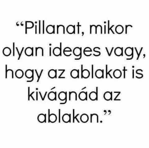 ideges vagyok idézetek Pin by Eszter Tóth on Idezetek | Funny quotes, Funny jokes, Funny