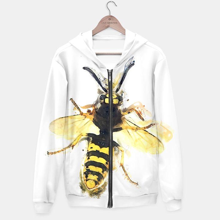 Wasp hoodie, Live Heroes