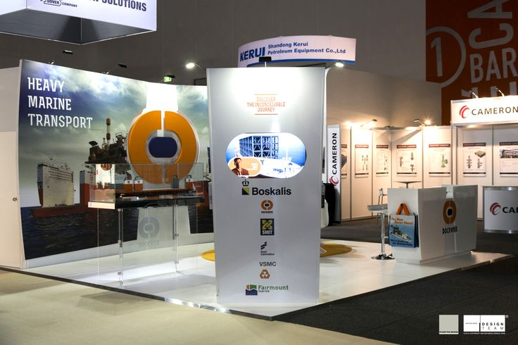 DOCKWISE @ APPEA Together with our partners Plant the Brand in Europe we have developed this new stand that evolved from its previous stand.  The new look better represents a vastly growing global marine transport company with unique vessels to perform specific tasks in the offshore oil and gas exploration fields.