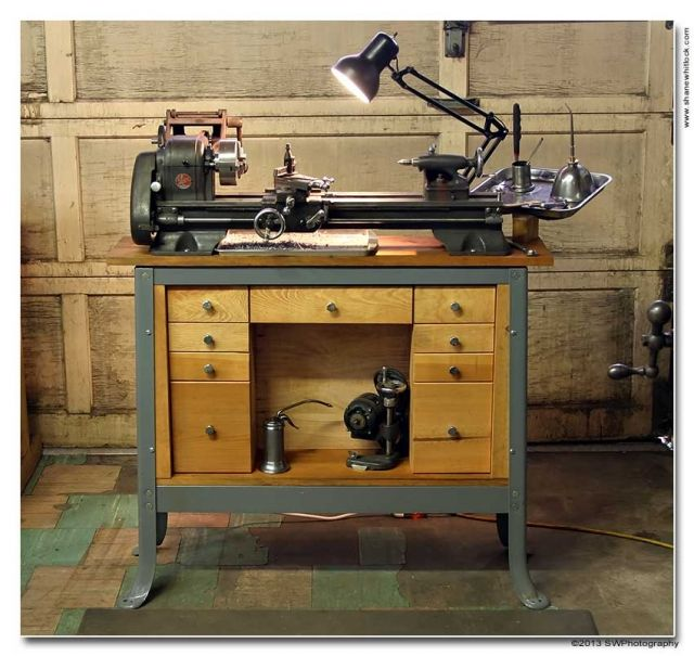 Atlas 618 Metal Lathe