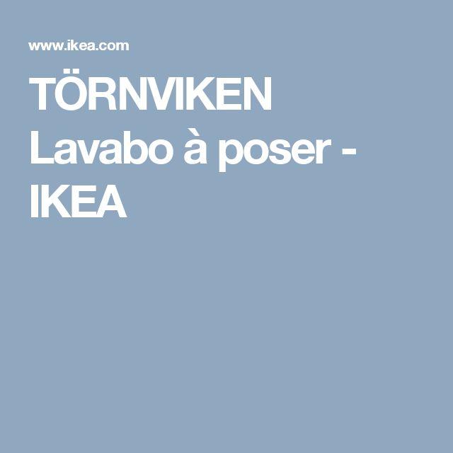 TÖRNVIKEN Lavabo à poser   - IKEA