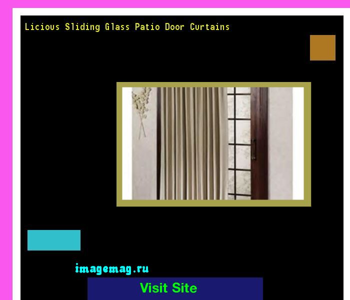 Licious Sliding Glass Patio Door Curtains 192604 - The Best Image Search