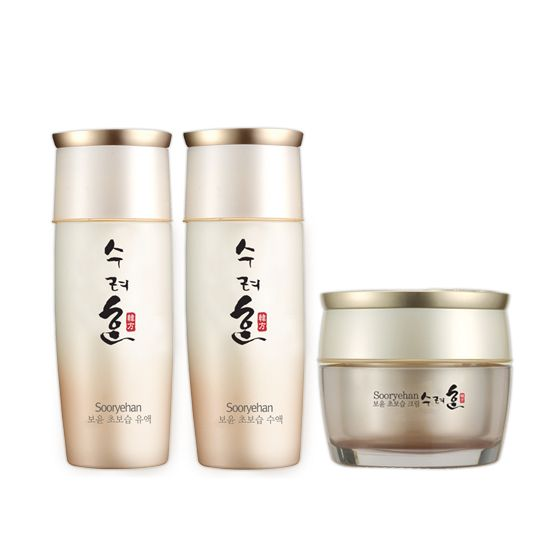 [sooryehan] Moisture Toner(80ml)+Lotion(80ml)+Cream(25ml) SET