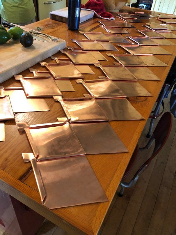 Decorating With Copper How To Add Warmth To Your Fall Decorevery Single One Of Us Wants To Make Ou In 2020 Copper Diy Copper Roof Metal Roof