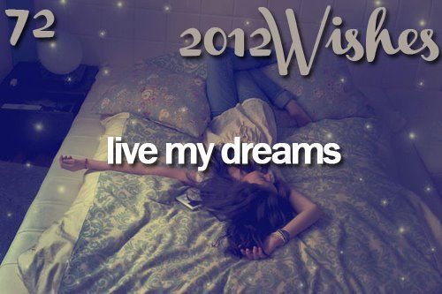 live my dreams: Buckets Lists, Favorite Things, 2012, Girly Quotes, 14 Living, Crazy Buckets, Crazy Life, Buried Life, Life Dreams