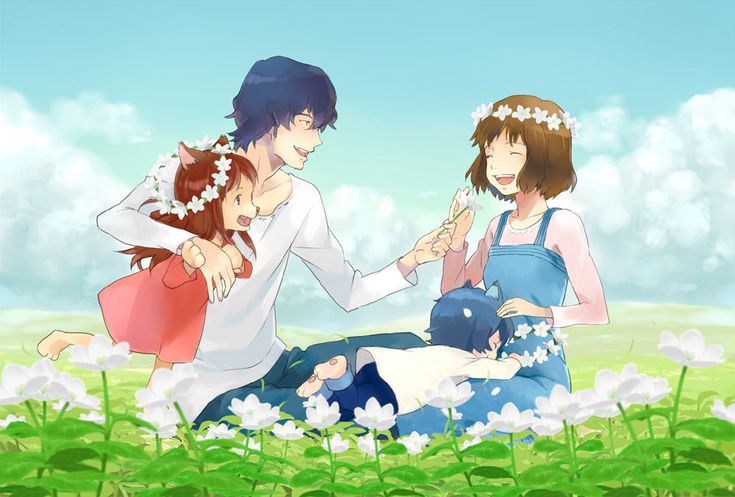 Wolf Children (One of the best movies of 2013) by Lemonchollytail.deviantart.com on @deviantART