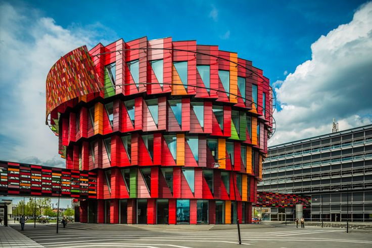 Kuggen (Swedish for 'the cogwheel') is a 5 storey building designed by Wingårdh arkitektkontor at the Chalmers University of Technology in Gothenburg, Sweden.