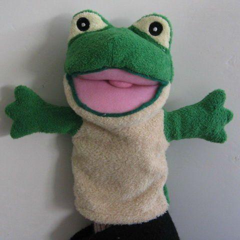 Rana marionetas de mano para la venta kids animal - Como hacer marionetas de mano ...