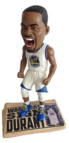 Kevin Durant (Golden State Warriors) Exclusive NBA Newspaper Base Bobble Head